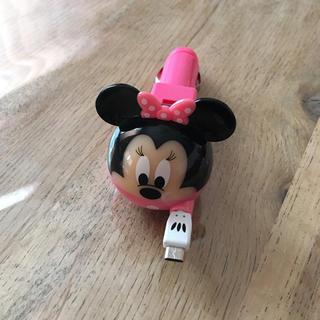 ディズニー(Disney)のミニー 車用 充電器 ソケット Android(バッテリー/充電器)