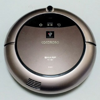 シャープ(SHARP)のSHARP ロボット掃除機 ココロボ プラズマクラスター搭載 RX-V95A-N(掃除機)