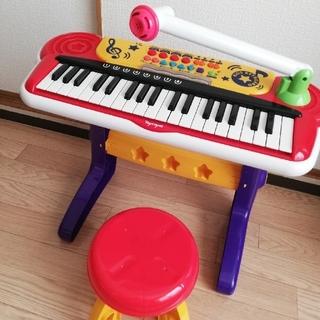 キッズキーボード 椅子付き(楽器のおもちゃ)