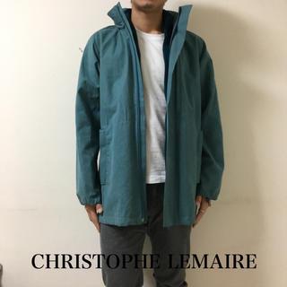 クリストフルメール(CHRISTOPHE LEMAIRE)のCHRISTOPHE LEMAIREフリースライナーインロングコート定価18万程(ステンカラーコート)