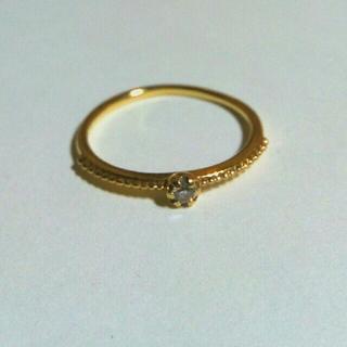 エテ(ete)のete k18 ダイヤモンド リング 6号(リング(指輪))
