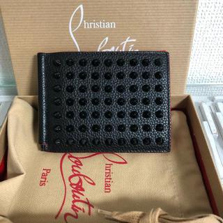 クリスチャンルブタン(Christian Louboutin)のクリスチャンルブタン  二つ折り財布 マネークリップ(マネークリップ)