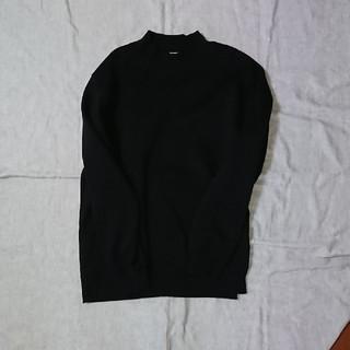 ジーユー(GU)のGU スウェットモックネックシャツ(スウェット)