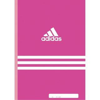アディダス(adidas)の新品 adidas アディダス ノート B5 30枚 ピンク ポイント消化(ノート/メモ帳/ふせん)