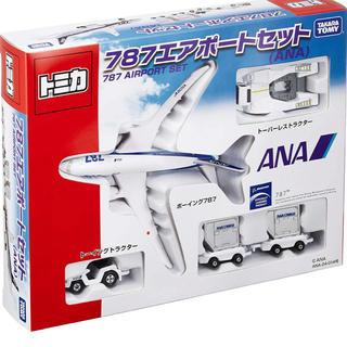 トミカ 787エアポートセット ANA(航空機)