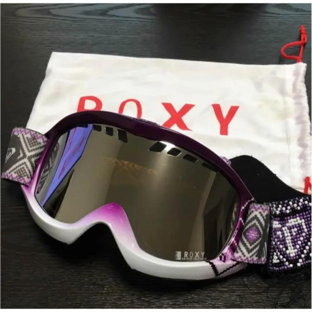 Roxy(ロキシー)のROXY  スノーボード ゴーグルお値下げしました♡ スポーツ/アウトドアのスノーボード(アクセサリー)の商品写真