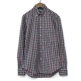 インディヴィジュアライズドシャツ(INDIVIDUALIZED SHIRTS)のGitman Vintage ギットマン B.Dシャツ チェックシャツ USA製(シャツ)