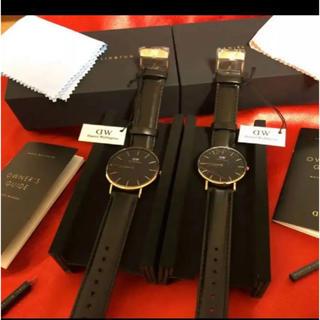 ダニエルウェリントン(Daniel Wellington)のダニエルウェリントン  ペアウォッチ クリスマスなどのプレゼントに!(腕時計)
