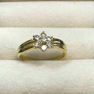 K18YG ダイヤモンドリング #14(リング(指輪))