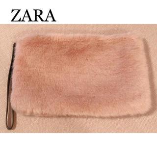 ザラ(ZARA)の【美品】ZARA ファークラッチバッグ(クラッチバッグ)