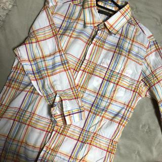 ニーキュウイチニーキュウゴーオム(291295=HOMME)のチェックシャツ(シャツ)