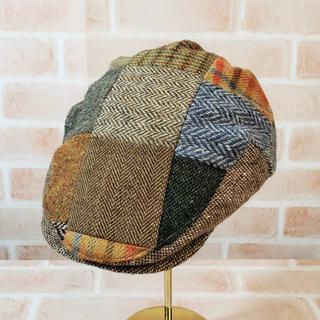 アルテア(ALTEA)の美品 アルテア Altea ☆ パッチワーク ハンチング帽(ハンチング/ベレー帽)