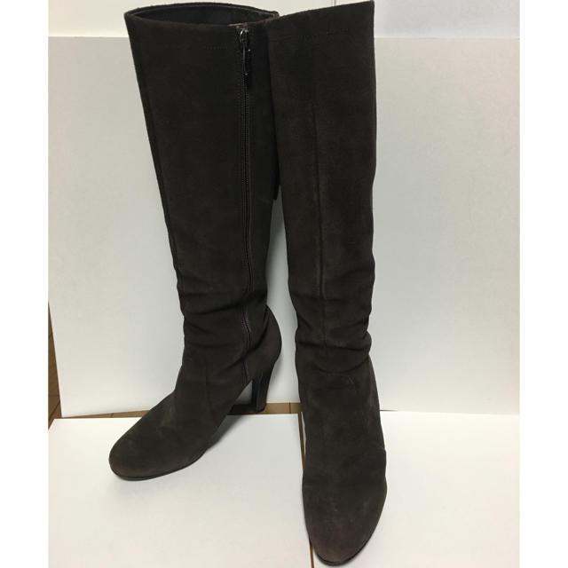 DIANA(ダイアナ)の美品 ダイアナ ロングブーツ 24 スエード レディースの靴/シューズ(ブーツ)の商品写真