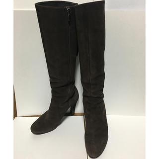 ダイアナ(DIANA)の美品 ダイアナ ロングブーツ 24 スエード(ブーツ)