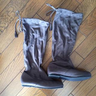 ムジルシリョウヒン(MUJI (無印良品))の無印良品 たためるブーツ 23センチ(ブーツ)