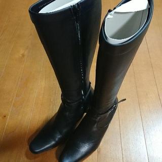 オゥバニスター(AU BANNISTER)のAU BANNISTER ブーツ(ブラック)(ブーツ)