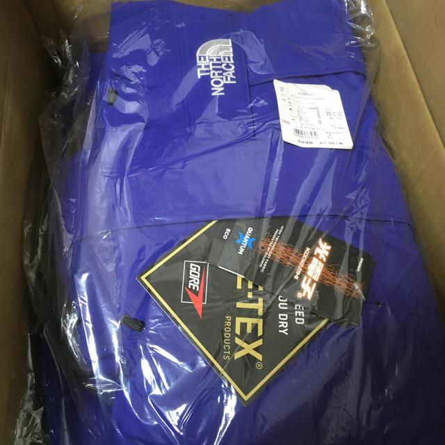 THE NORTH FACE(ザノースフェイス)の公式購入 希少 XSサイズ アンタークティカパーカ ブルー 青  メンズのジャケット/アウター(ダウンジャケット)の商品写真