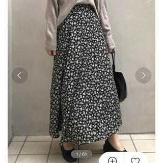 アイスー(i-SOOK)のi-sook 花柄スカート(ロングスカート)