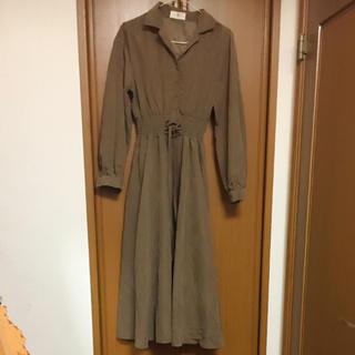 【最終価格】rps リボン 編み込み ロングワンピース