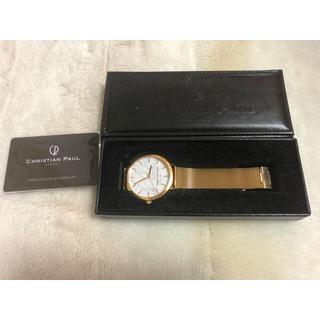 クリスチャンポー(CHRISTIAN PEAU)のクリスチャンポール 時計(腕時計)
