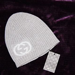 グッチ(Gucci)の【 新品未使用 正規店購入 】 GUCCI グッチ ビーニー ニット帽(ニット帽/ビーニー)