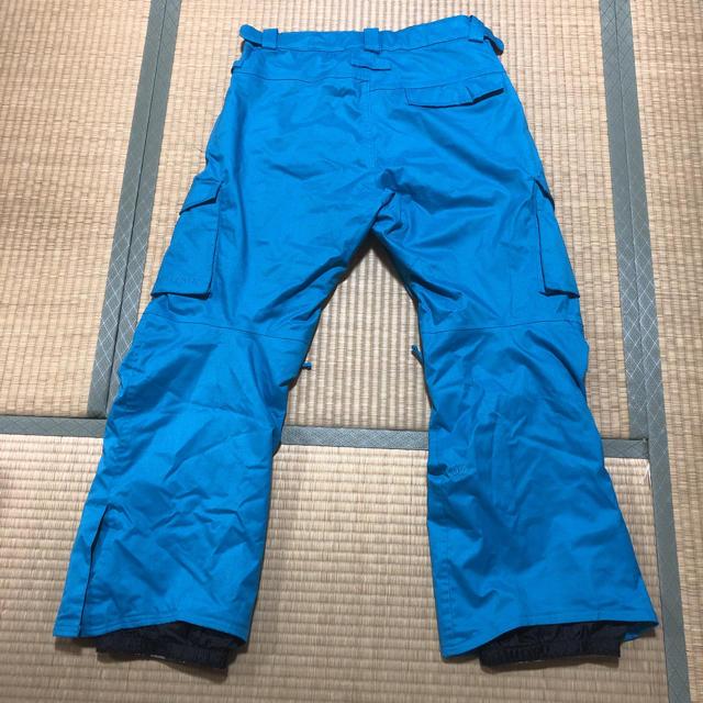 BURTON(バートン)のスノーボード ウェア パンツ 686 青 ブルー Lサイズ スポーツ/アウトドアのスノーボード(ウエア/装備)の商品写真