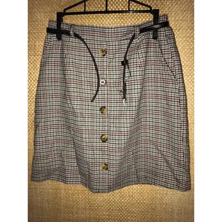 シマムラ(しまむら)のチェックのタイトスカート(ミニスカート)
