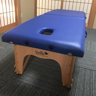 折りたたみ 整体ベッド(簡易ベッド/折りたたみベッド)