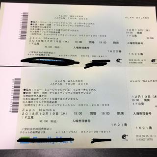 alan walker チケット 大阪公演(海外アーティスト)