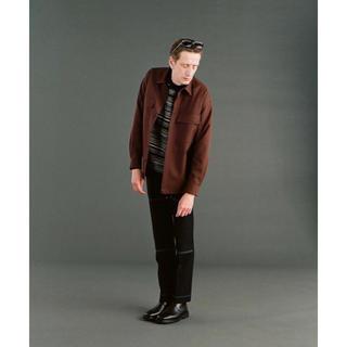 アレッジ(ALLEGE)の18aw ALLEGE   Wool W pocket shirt(シャツ)
