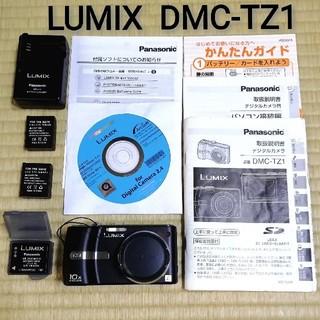 パナソニック(Panasonic)のLUMIX【DMC-TZ1】(コンパクトデジタルカメラ)