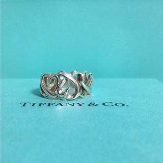 ティファニー(Tiffany & Co.)のティファニー トリプルハートリング(リング(指輪))