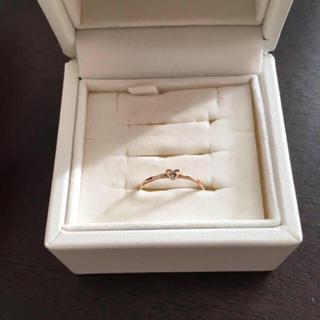 ジュピターゴールドレーベル(jupiter GOLD LABEL)のjupiter ベビーハートリング 5号(リング(指輪))