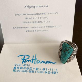 ロンハーマン(Ron Herman)のロンハーマンオリジナル・ターコイズリング(リング(指輪))
