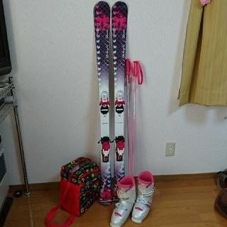 ディズニー(Disney)の子供スキーセット  ディズニーミニー138センチ(板)
