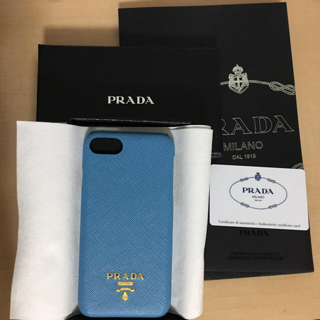 PRADA - PRADA iPhone7/8 サフィアーノ 新品未使用の通販 by mari's shop|プラダならラクマ