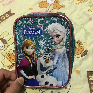 ディズニー(Disney)のアナ雪ポーチ。小物入れ。(その他)