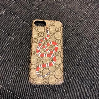グッチ(Gucci)のGUCCI iPhoneケース ヘビ(モバイルケース/カバー)
