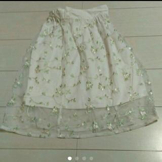 ジーユー(GU)のGU 130cm 女の子 スカート(スカート)