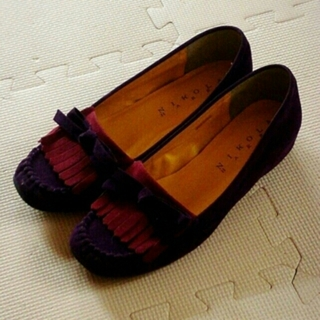 フリンジローファー(ローファー/革靴)