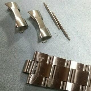 ラグ幅19ミリ3連オイスター(金属ベルト)
