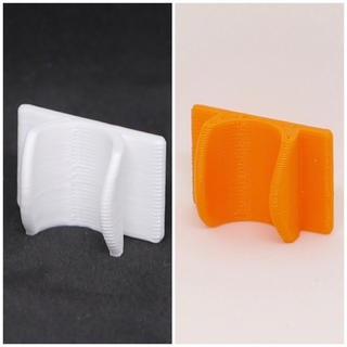 BOOBEE様専用ページ クリップホワイト&オレンジ(鼻水とり)