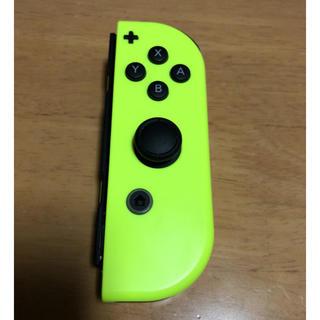 ニンテンドースイッチ(Nintendo Switch)のニンテンドースイッチ 単品ジョイコン ネオンイエロー 右 R(その他)