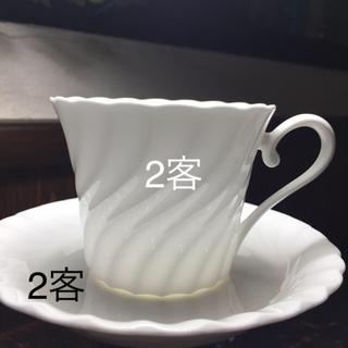 ニッコー(NIKKO)のNIKKO japan コーヒーカップソーサ2客お値下げ(グラス/カップ)