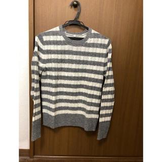 ムジルシリョウヒン(MUJI (無印良品))の無印良品 メリノウールケーブル柄セーター(ニット/セーター)