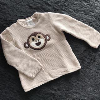 ザラ(ZARA)のZARA BABYお猿さんセーターsize98(Tシャツ/カットソー)
