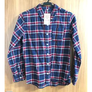 ムジルシリョウヒン(MUJI (無印良品))の無印良品 ネルシャツ 150(ブラウス)