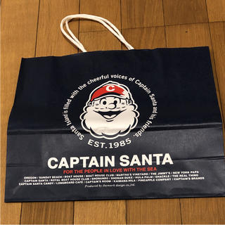 キャプテンサンタ(CAPTAIN SANTA)のCAPTAIN  SANTA 紙袋 ショップ袋(ショップ袋)