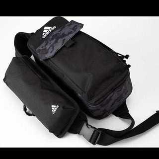 アディダス(adidas)のadidas ももクロ スペシャルボディバッグ 黒(ボディーバッグ)