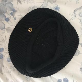 グッチ(Gucci)のGUCCI ベレー帽(ハンチング/ベレー帽)